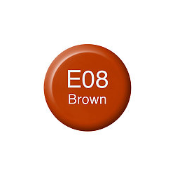 Copic Ink and Refill E08 Brown *ND*