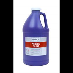 Handy Art Acrylic Paint Violet Half-Gallon