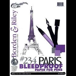 Borden & Riley #234 Paris Bleedproof Paper for Pens