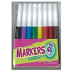 Montrose Washable Broadline Markers 8 Count