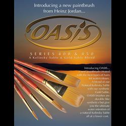 Heinz Jordan Brushes - 400 Oasis