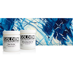 Golden Pourable Gel