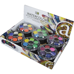 Art Advantage Watercolor Paint Tray Sets
