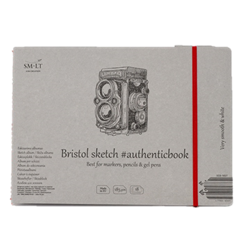 SM.LT authenticpad Album Bristol Sketch 24.5cm x 176cm 185gsm 18shts **ND**