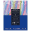 "Fabriano Studio Watercolour Pad 140lb Cold Pr Press 11""x14"" 50 Shts $80 Value ND"