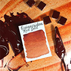 Stoneground Watercolour Half Pan Quinacridone Red Gold **ND**