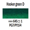 Van Gogh Watercolour Half-Pan Hooker Green Deep