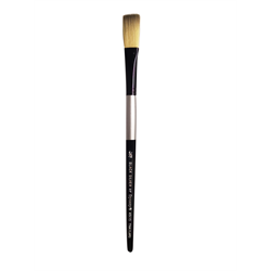 Brush Black Silver SH Stroke 1/2