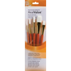Brush Set 9152 Real Value Series - White Taklon Set of 5 brushes