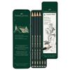 Faber Castell Drawing Pencil 9000 Set of 6 Grades (HB-8B)