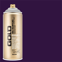 Montana GOLD Spray Black Purple - 400ml **ND**