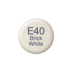 Copic Ink and Refill E40 Brick White *ND*