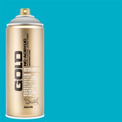 Montana GOLD Spray 100 Percent Cyan - 400ml **ND**