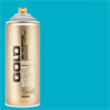 Montana GOLD Spray 100 Percent Cyan - 400ml **ND**