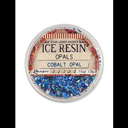 Ranger Ice Resin Opals -  Cobalt Opal **ND**