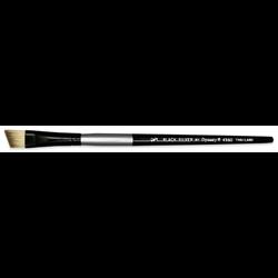 Brush Black Silver SH Angular 1/2