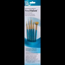 Brush Set 9170 Real Value Series - Golden Taklon Set of 5 brushes