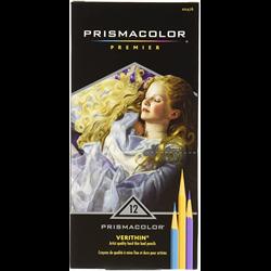 Prismacolor Verithin Pencil Set 12 Colour  (2476 HT)