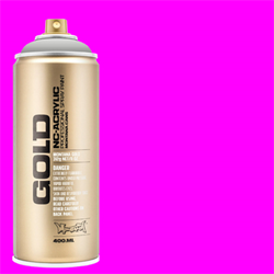 Montana GOLD Spray Gleaming Pink - 400ml **ND**