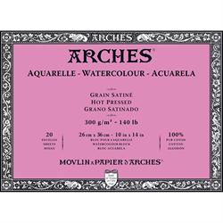 "Arches Watercolour Block HP 140lb 10""x14"""