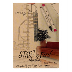Start Pad Marker A5 75gsm 20shts **ND**