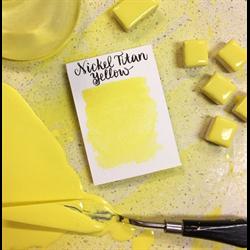 Stoneground Watercolour Half Pan Nickel Titan Yellow **ND**