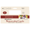 "Strathmore Cards Watercolor CP 140lb 3.875"" x 9"" 10pk"