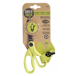 Onyx + Blue Corn Plastic Scissors 5 Inches