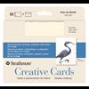 "Strathmore Cards Creative Ivory/Deckle 5"" x 6.875"" 10pk"
