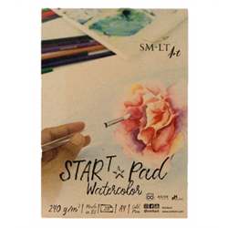 SM.LT Start Pad Watercolor A4 240gsm 20shts **ND**