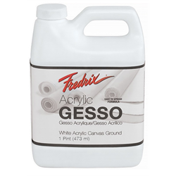 Fredrix Gesso Acrylic White 473ml/pint