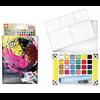Sakura Koi Water Colors Pocket Field Sketch Box CAC 24 colours