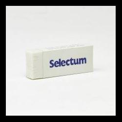 Eraser Selectum White Vinyl 53-127