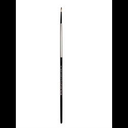 Brush Black Silver LH Round 6