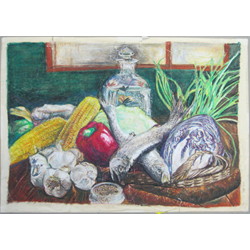 4-session Intro to Oil Pastels with Wanda Dombek, Oct 21 - Nov 18