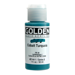 Golden Fluid Acrylic 1oz. Bottle