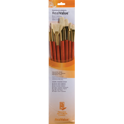Brush Set 9154 Real Value Series - Bristle Set of 7 brushes - LH