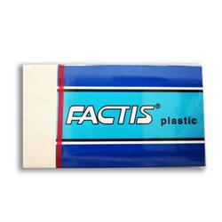 Eraser Factis Giant White Vinyl Sleeved (P6)