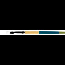 Brush Princeton SNAP White Taklon Flat Shader #16