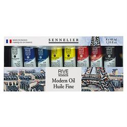 Sennelier Rive Gauche Oil Set - Modern Oil 8 x 40ml