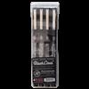 Pacific Arc Black Liner 4 Pen Set - Broad 0.4/0.5/0.6/0.8