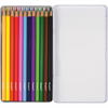 Additional images for Pentalic Colored Pencil Tin 12 Color Set