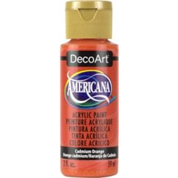 Americana Acrylic Cadmium Orange (Transp.) 2oz **ND**