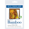 Strathmore Trading Cards Bamboo