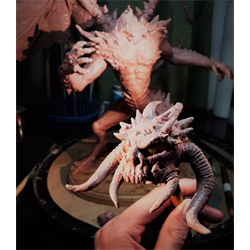 //Done - Sculpting Monsters with Matt Irwin, Oct 8th, 15th, 22nd 2017