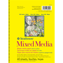 300 Series Mixed Media