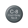 Copic Ink and Refill C8 Cool Grey 8 *ND*