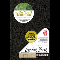 Pentalic Bamboo Hardbound Sketch Books