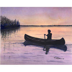 //Done - 5-week Beginner Level Watercolor Course w/Tom Chan, Mar. 5th - Apr. 9th
