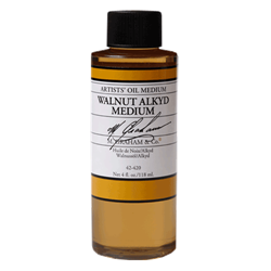 M. Graham 4 Oz. Walnut / Alkyd Oil Medium